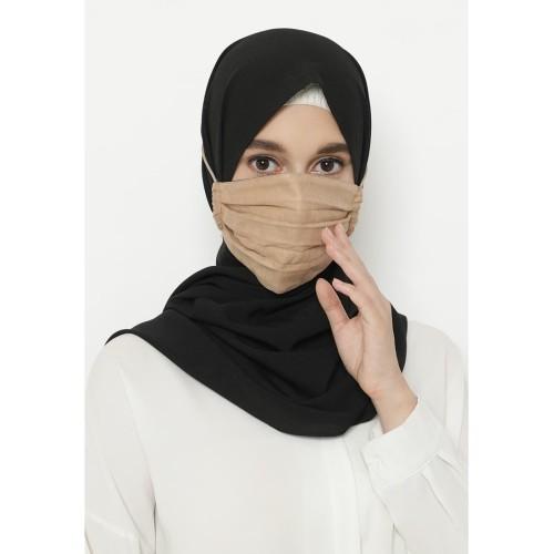 Foto Produk Heaven Sent - Masker Hijab Non Medis Aresha Brown dari Heaven Sent Official