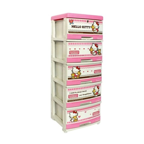 Jual Lemari Plastik Napolly 5 Susun Karakter Hello Kitty Dan Frozen Biru Kab Bandung Erniiheryani Tokopedia