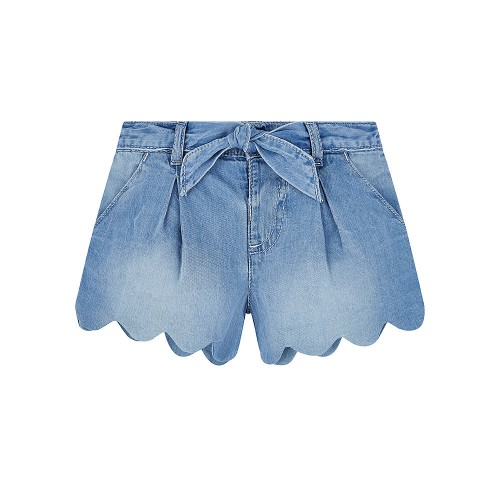Foto Produk Mothercare denim scalloped shorts - 4-5 years dari Mothercare ELC Official