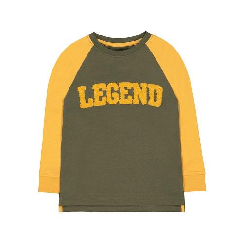 Foto Produk Mothercare mustard legend raglan t-shirt (18 mo - 7 yo) - 18-24 months dari Mothercare Official Shop