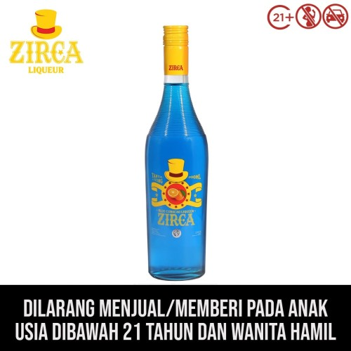 Foto Produk Zirca Liqueur Blue Curacao dari kawan minum