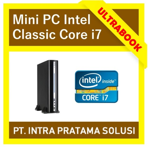 Foto Produk MINI PC INTEL CLASSIC (CORE i7 / RAM 4GB) - FOR OFFICE NEEDS - SSD 120GB dari PT. Intra Pratama Solusi