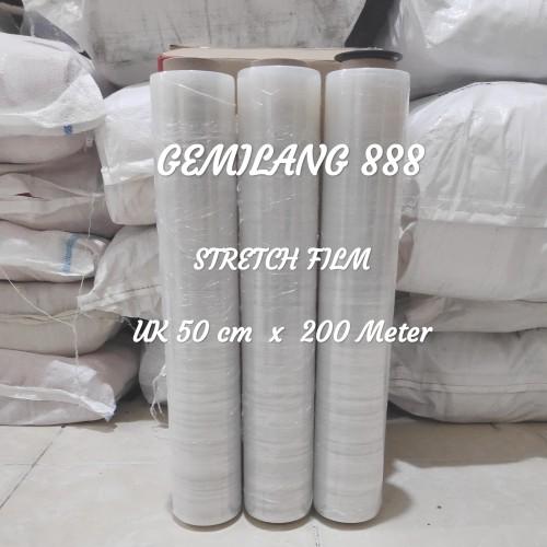Foto Produk Stretch Film uk 50cm x 200meter, Plastik wrapping barang dari Gemilang 888