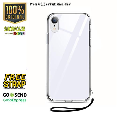 Foto Produk ESR Original iPhone Xs / Xs Max / X / Xr Mimic Tempered Glass Softcase - Xr dari showcasefever