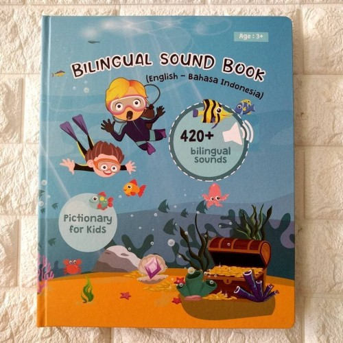Foto Produk (PO) Bilingual Sound Book BUKU ANAK DWI BAHASA BEST SELLER dari Bee Shoppe Sby