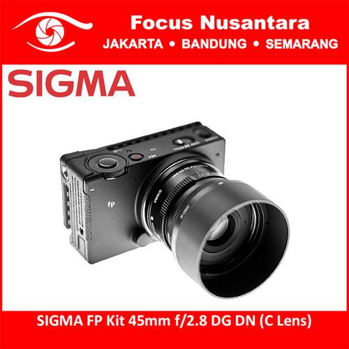 Foto Produk SIGMA FP Kit 45mm f/2.8 DG DN (C Lens) dari Focus Nusantara