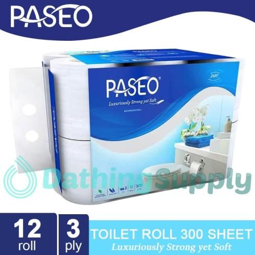 Foto Produk Tissue Paseo Elegant Toilet 12 Roll / Tisu WC isi Banyak dari Dathing Supply