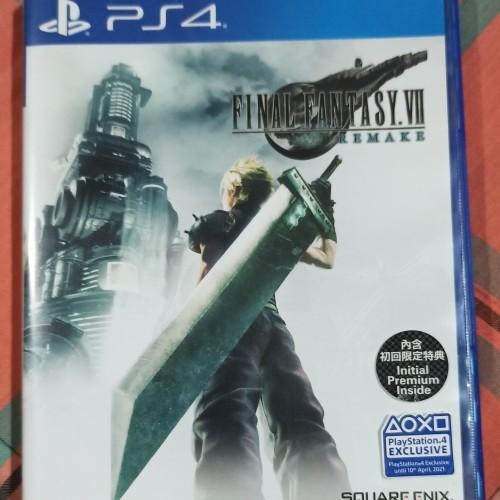 Foto Produk PS4 Final Fantasy VIII 7 Remake Reg 3 Bekas dari Maniac Bola