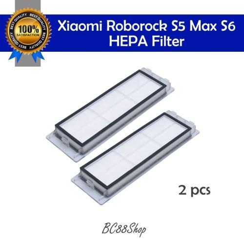 Foto Produk Xiaomi Roborock S5 Max S6 HEPA Filter (sparepart) - 2 pcs dari BC88Shop