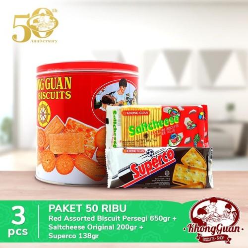 Foto Produk Promo Hemat 50k dari Khong Guan Biscuits Shop