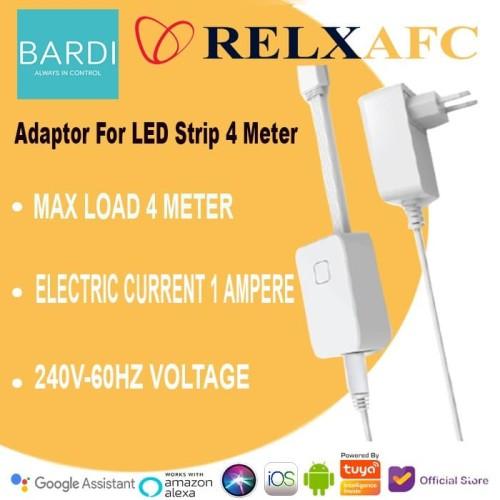 Foto Produk BARDI Adaptor for LED strip 4m - control by app / google home / alexa dari Relx Afc Official