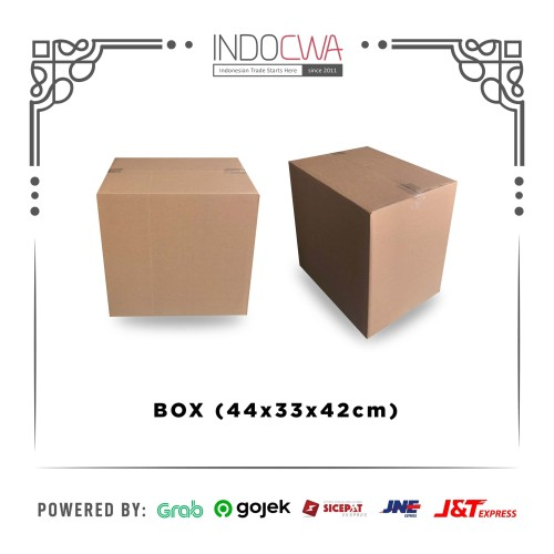 Foto Produk Kardus Box Karton Packing Murah UK 44 x 30 x 42 untuk Pindahan dari IndoCwa