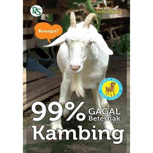 Foto Produk 99% Gagal Beternak Kambing (Penebar Swadaya - Buku Peternakan) dari kawasanbuku