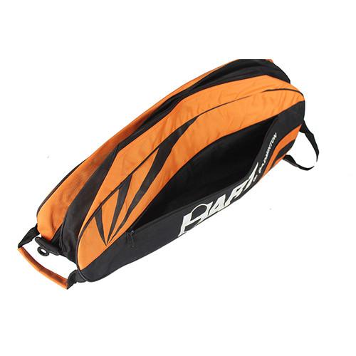Foto Produk Hart Compartment Bag (HB-202) Black / Orange Tas Badminton dari Hart Badminton Indonesia