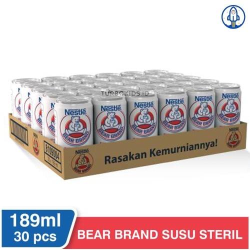 Jual Susu Bearbrand Bear Brand 1 Dos Beruang Susu Steril 189ml Promo Kota Surabaya Starfnb Tokopedia