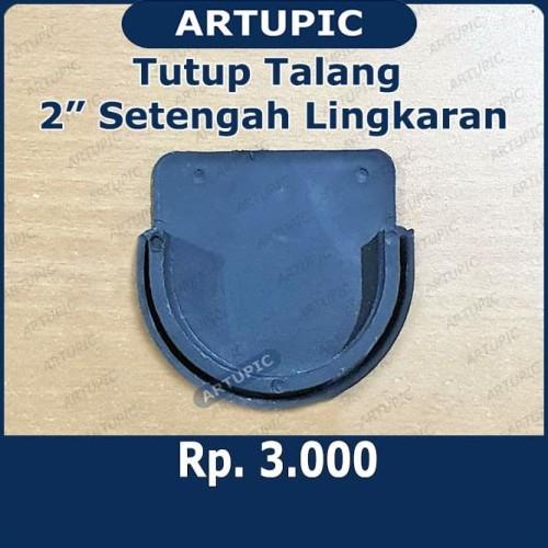 Foto Produk Tutup Talang 2 Inch SETENGAH LINGKARAN untuk talang minum ayam dari ArtupicPeralatanPeternak