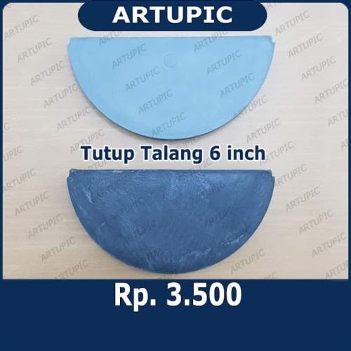 Foto Produk Tutup Talang Pakan 6 inch setengah lingkaran dari ArtupicPeralatanPeternak