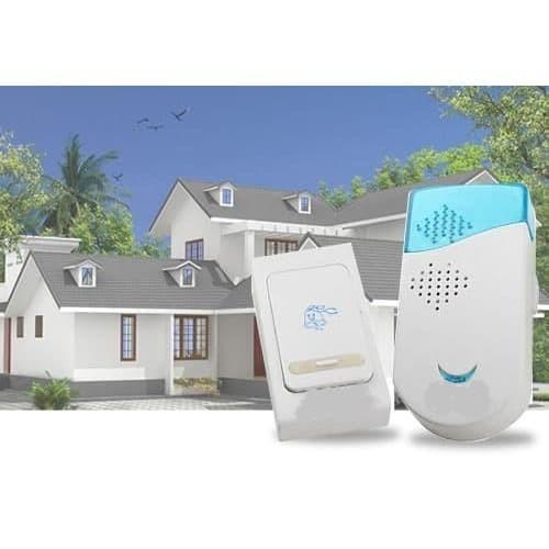 Foto Produk Bel pintu rumah wireless bell door 32 musik 100m tanpa kabel nirkabel dari BEST SHOP GROSIR