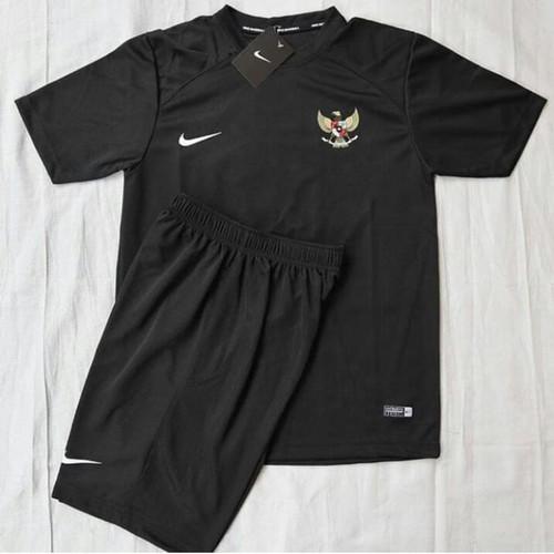 Foto Produk Jersey timnas indonesia - stelan kaos dryfit - Hitam, M dari oxsport shop