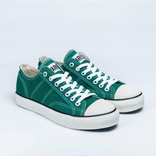 Foto Produk Sepatu Warrior Classic Low Dark Green dari sepatu kodachi
