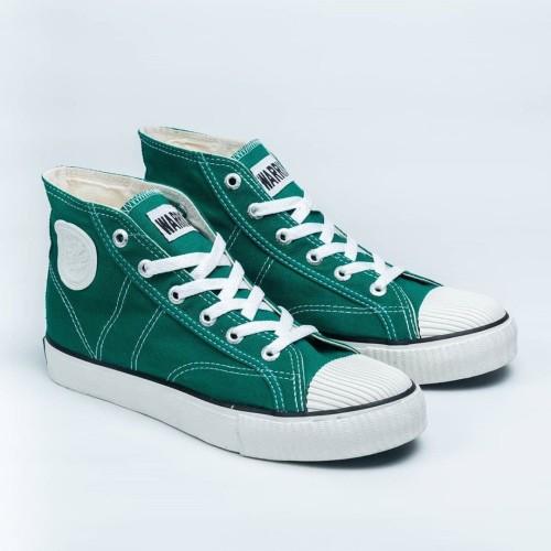 Foto Produk Sepatu Warrior Classic High Dark Green dari sepatu kodachi