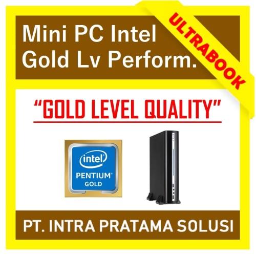 Foto Produk MINI PC INTEL GOLD (RAM 4GB) - High Performance for Office Needs - SSD 120GB dari PT. Intra Pratama Solusi