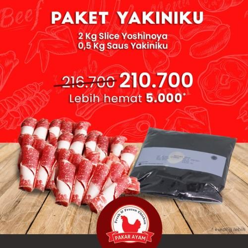 Foto Produk Paket Bundling Slice Yakiniku & Sauce Harga Lebih Ekonomis dari Pakar Ayam