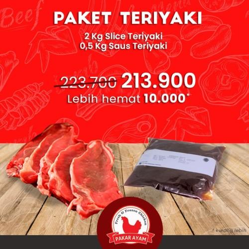 Foto Produk Paket Bundling Slice Teriyaki & Sauce Harga Lebih Ekonomis dari Pakar Ayam