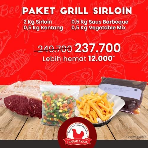 Foto Produk Paket Bundling Grill Sirloin Untuk Acara Pesta dan Kumpul Keluarga dari Pakar Ayam
