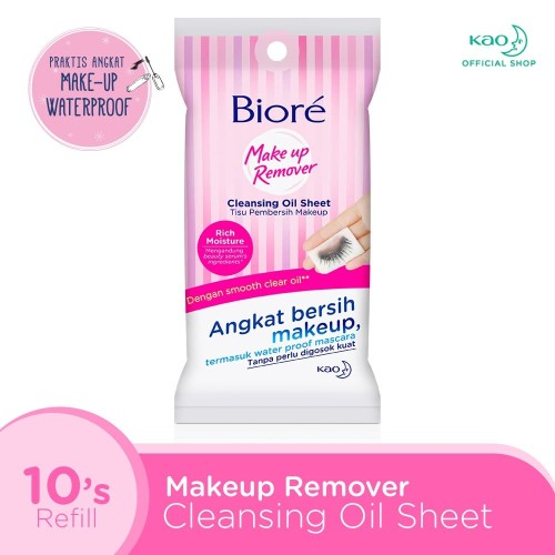 Foto Produk BIORE Cleanising Oil In Sheets 10S dari KAO Official Store