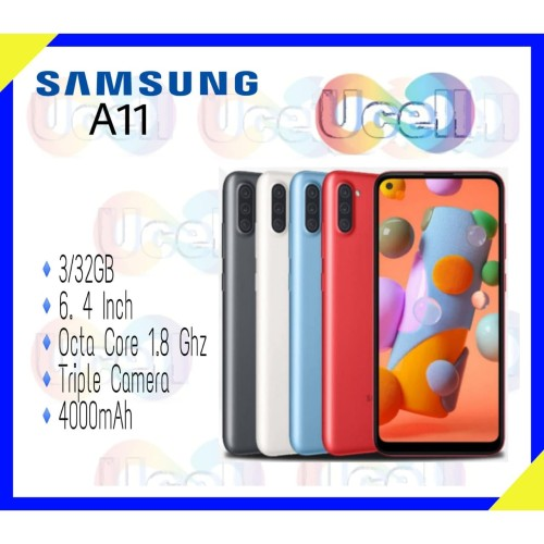 Foto Produk Samsung Galaxy A11 - 3GB/32GB - Garansi Resmi - Putih dari ucell cempaka