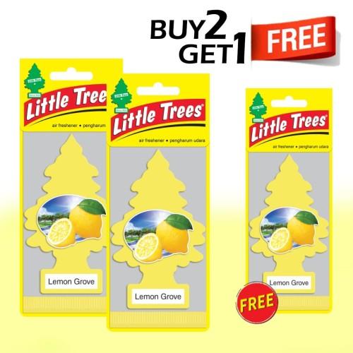 Foto Produk Buy 2 Get 1 FREE Little Trees Paper Lemon Groove dari LITTLE TREES INDONESIA