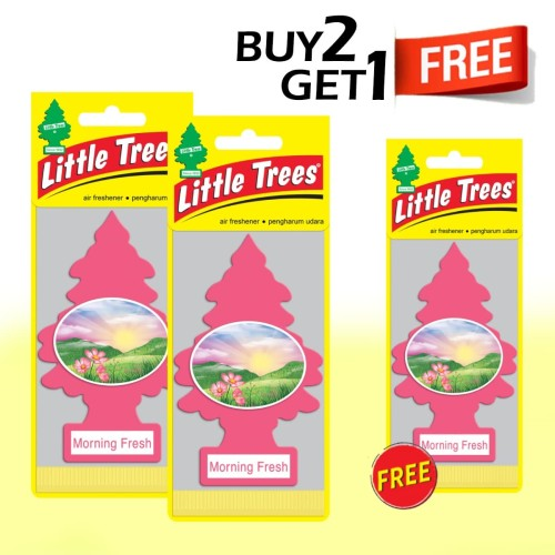 Foto Produk Buy 2 Get 1 FREE Little Morning Fresh dari LITTLE TREES INDONESIA