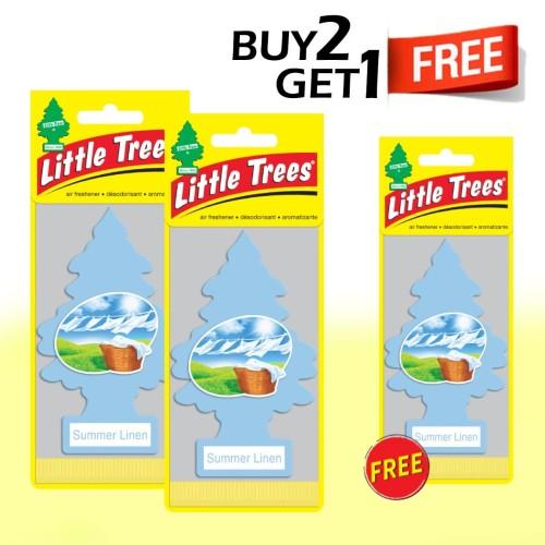 Foto Produk Buy 2 Get 1 FREE Little Trees paper Summer Linen dari LITTLE TREES INDONESIA