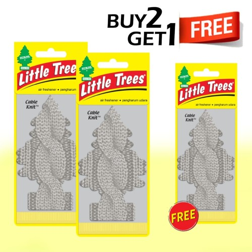 Foto Produk Buy 2 Get 1 FREE Little Trees Cable Knit dari LITTLE TREES INDONESIA