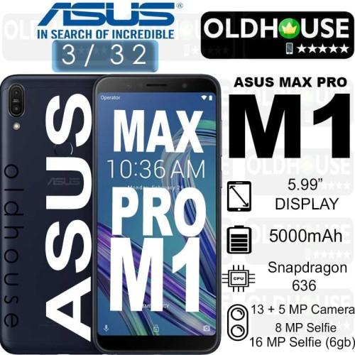 Foto Produk Asus Zenfone Max Pro M1 ZB602KL 3/32 GARANSI RESMI ASUS - SILVER - Hitam dari oldhouse