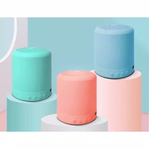 Foto Produk Speaker Bluetooth Mini Portable Macaron Colourful dari PINZY Official Store