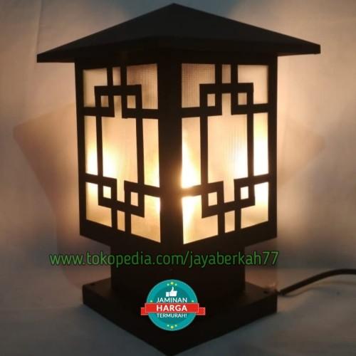 Jual Lampu Taman Pilar P05 Kab Bogor Jayaberkah77 Tokopedia
