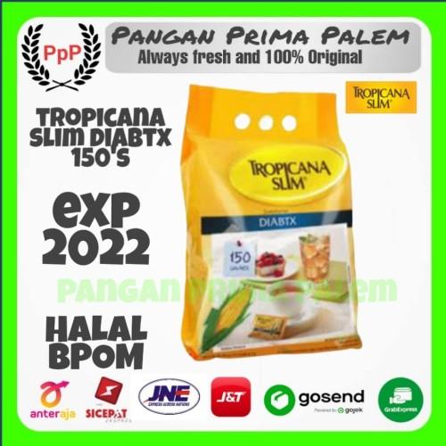 Foto Produk Tropicana slim sweteener Diabtx 1pack isi 150 gula jagung diabetes dari Pangan Prima Palem