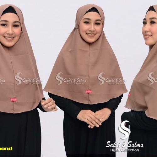 Foto Produk Hijab Bergo Maryam Instan Diamond Italiano dari salma hijab collection