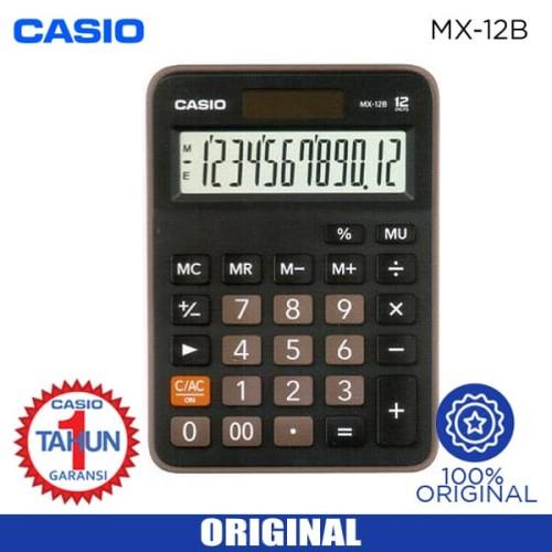 Foto Produk Kalkulator Casio MX 12 B dari Sinarmutiara Online