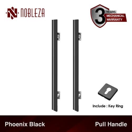 Foto Produk NOBLEZA Phoenix Hitam 60 cm Pull Handle Gagang Tarikan Pintu Rumah dari Nobleza Hardware