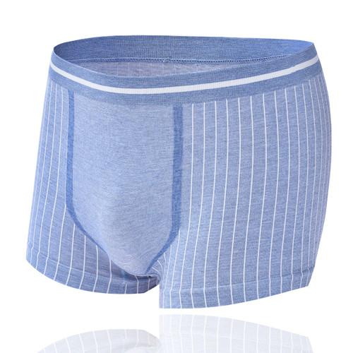 Foto Produk Celana dalam pria M03   Seamless High elastis all size slim fit - Navy Blue, all size dari Toko Disen