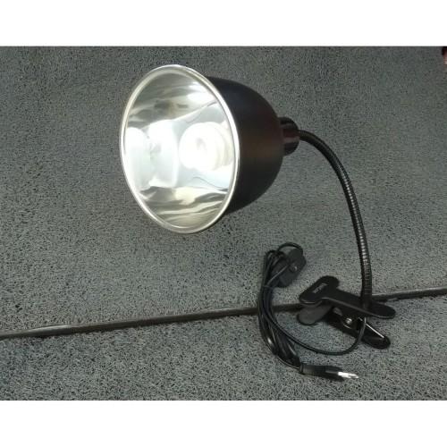 """Foto Produk Paket Fitting Jepit Premium Metal 30cm + 18cm 7"""" Light Dome dari mulia jaya tortuga"""