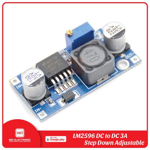Foto Produk LM2596 DC to DC Step Down Module - Standard dari WD Electronic