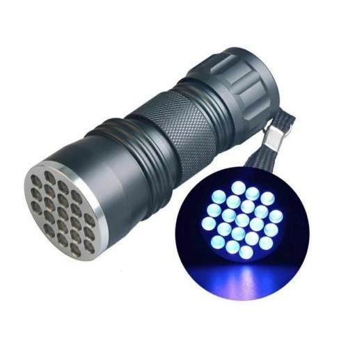 Foto Produk SENTER ULTRAVIOLET UV 21 LED CEK UANG PALSU, CEK BATU, DSB dari Bro & Sis Jakarta