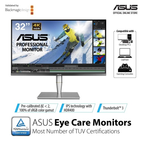 Foto Produk ASUS ProArt PA32UC 4K HDR Professional Monitor dari Kohen Store