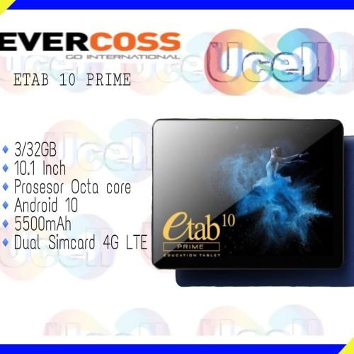 Foto Produk Evercoss Etab 10 Prime - 3GB/32GB - Garansi Resmi dari ucell cempaka