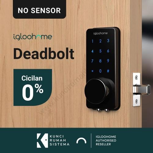 Foto Produk Igloohome Smart Deadbolt V2 -Smart Lock Kunci Rumah Digital(No Sensor) dari Igloohome