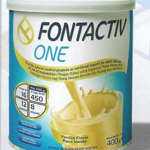 Foto Produk Fontactiv ONE Susu Nutrisi Serat Prebiotik Omega3 Anti Osteo Imunitas dari Mensana in Corpore Sano
